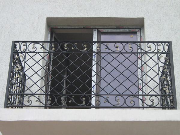 Favoloso parapetto balcone in ferro battuto | Lightline UY64