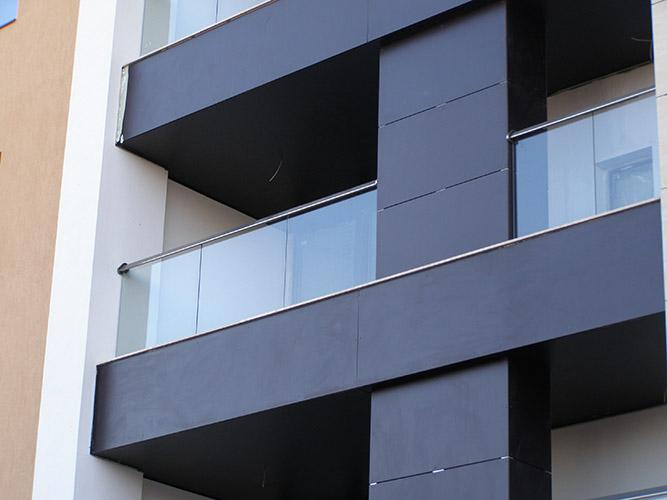 parapetto balcone in acciaio inox | Lightline