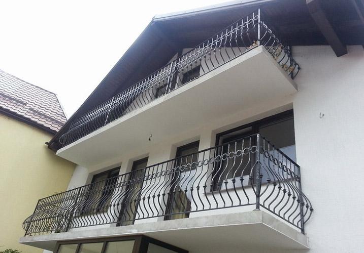 balconi ringhiere in ferro battuto : parapetto balcone in ferro battuto Lightline
