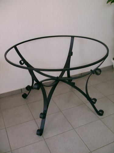 Tavoli e sedie lightline - Tavolo ferro battuto e vetro ...